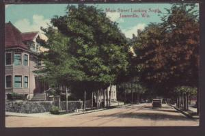 Main Street Looking South,Janesville,WI Postcard