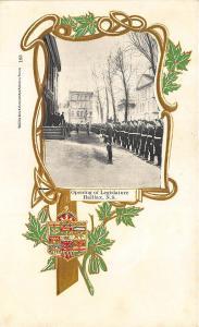 Halifax N. S. Canada Opening of Legislature Souvenir Postcard
