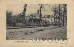 Chateau Thierry Military, WW I, World War I, Postcard Postcards  Chateau Thierry