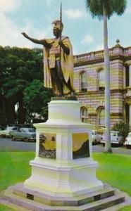Hawaii Honolulu Kamehameha Statue