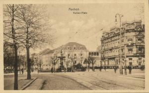 germany, AACHEN, Kaiser-Platz (1910s)