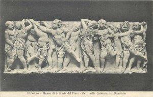 Postcard Italy Firenze Putti nella Cantoria del Donatello