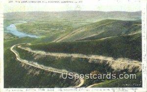 Lewiston Hill Highway - Idaho ID