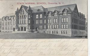 ONEONTA, New York, PU-1907; State Normal School # 2