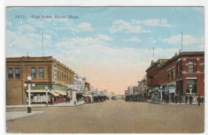 First Street Havre Montana 1910s postcard