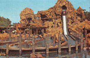 Buena Park California~Knott's Berry Farm Calico Log Ride~Logger Water Flume~1970