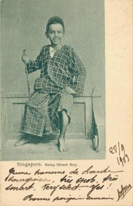 Singapore Malay Street Boy 03.77
