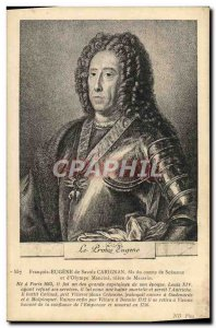 Old Postcard Francois Eugene Ssavoie Carignan son of Count of Soissons