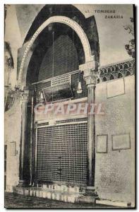 Old Postcard Tomb Zakaria