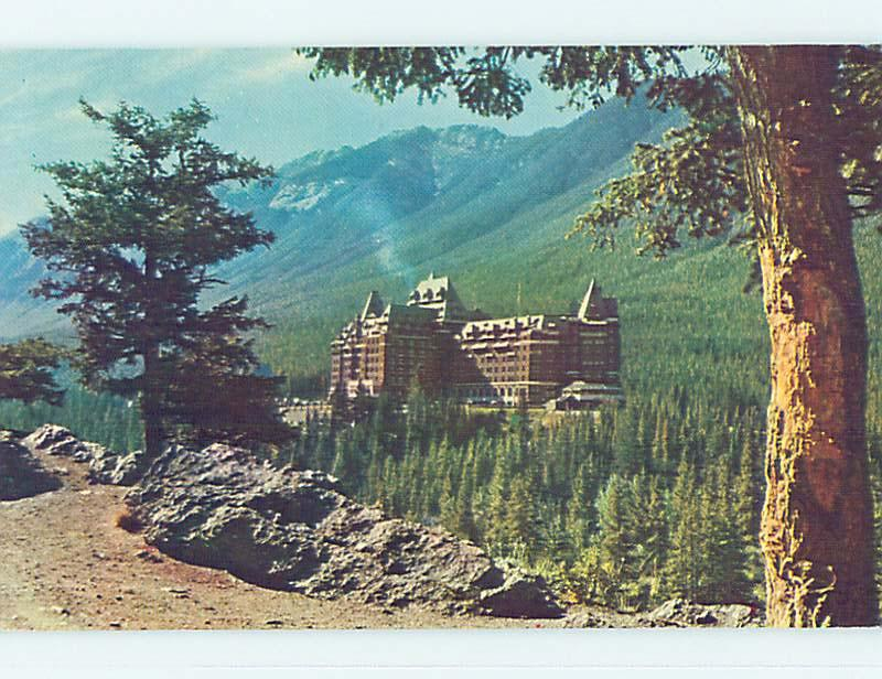 Unused Pre-1980 TOWN VIEW SCENE Banff Alberta AB p7900