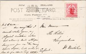 Haka for a Penny Auckland NZ New Zealand Children Stamp Postcard E56