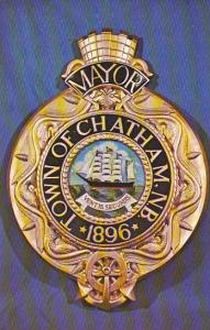 Canada New Brunswick Chatham Official Town Crest