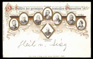 Austria 1898 German National Racial Purity Group DFP Progressive Party Hei 97542