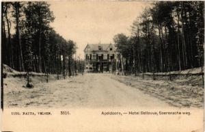 CPA APELDOORN Hotel Bellevue Soerensche weg NETHERLANDS (604725)