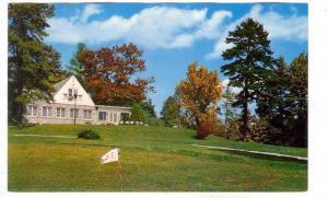 Golf Course & club house, Hendersonville, North Carolina, 40-60s