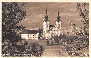 Italy Old Vintage Antique Post Card St Andra in Lav Lorettokirche Writing on ...