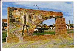 Mosaic Art in Park, Medicine Hat Alberta,