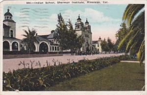 California Riverside Indian School Sherman Institute 1937