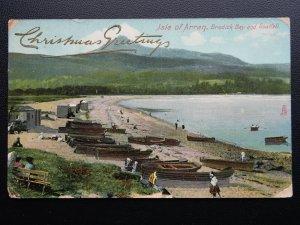 Scotland ISLE OF ARRAN Brodick Bay CHRISTMAS c1907 Postcard by Raphael Tuck 8001
