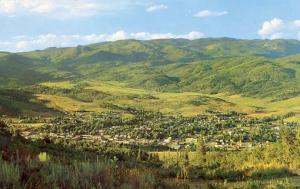 CO - Steamboat Springs Panoramic View