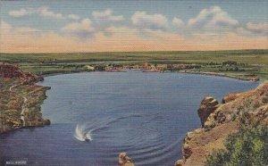 Lea Lake Bottomless Lakes State Park Roswell North Mexico 1940