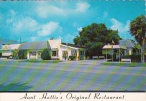 Florida St Petersburg Aunt Hattie's Original Restaurant 1st Street South