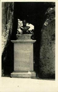 china, MACAO MACAU 澳門, Luis de Camoes Cave (1920s) RPPC