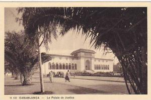 Casablanca , Morocco , 1920-30s ; Le Palais de Justice