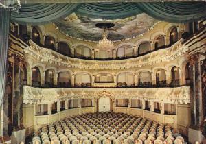 Germany Schwetzingen Rokoko-Theater in Schloss