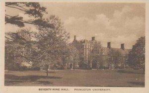 New Jersey Princeton Seventy Nine Hall Princeton University Albatype