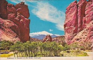Gateway To Garden Of The Gods Denver Colorado