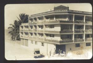 RPPC PUERTA VALLARTA MEXICO HOTEL SIESTA VINTAGE REAL PHOTO POSTCARD
