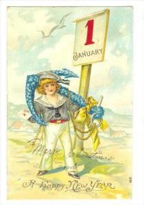 Sailor Boy , A happy New Year, PU-1907