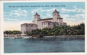 The Alba From Lake Showing Fifth Avenue Shops Palm Beach Florida