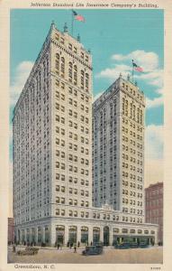 GREENSBORO , North Carolina , 1938 ; Jefferson Standard Life Insurance Co. Bldg.