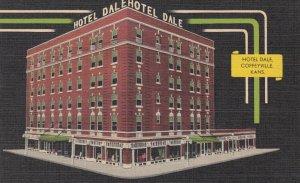 COFFEYVILLE , Kansas , 1930-40s ; Hotel Dale