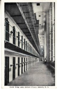 South Wing Cells, Auburn Prison, AUburn NY 1929