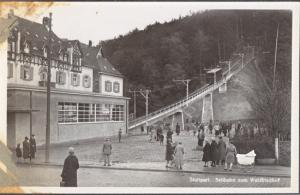 Stuttgart Germany - Cable car funicular to Waldfriedhof, 1920s