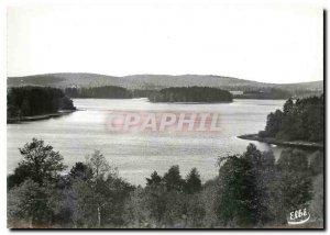 Postcard Modern Lake Settons Nievre Lake View
