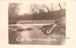 City Water Works Dam Caney KS 1909