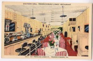 Southern Grill, Fredericksburg VA