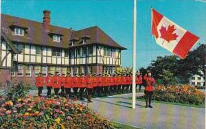 Canada Royal Canadian Mounted Police Flag Raising