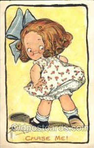 Artist Signed Grace Wiederseim / Drayton 1909 light crease top right corner t...
