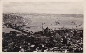 Turkey Istanbul General View Real Photo