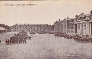 WINCHESTER, England , 1900-1910´s; Rifle Brigade Barracks