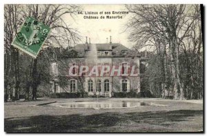 Old Postcard Lisieux and its Surroundings Chateau Manerbe