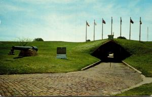 Alabama Fort Morgan State Park Guarding The Entrance To Mobile Bay 1970