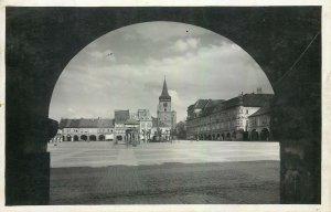 Postcard Czech Republic Jicln Namestf