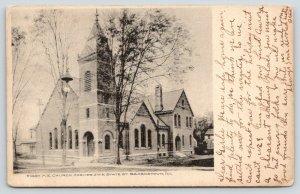 Beardstown Illinois~First Methodist Episcopal ME Church~5th & State Street~1905