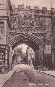 SALISBURY, Wiltshire, England, 1900-1910s; North Gate.